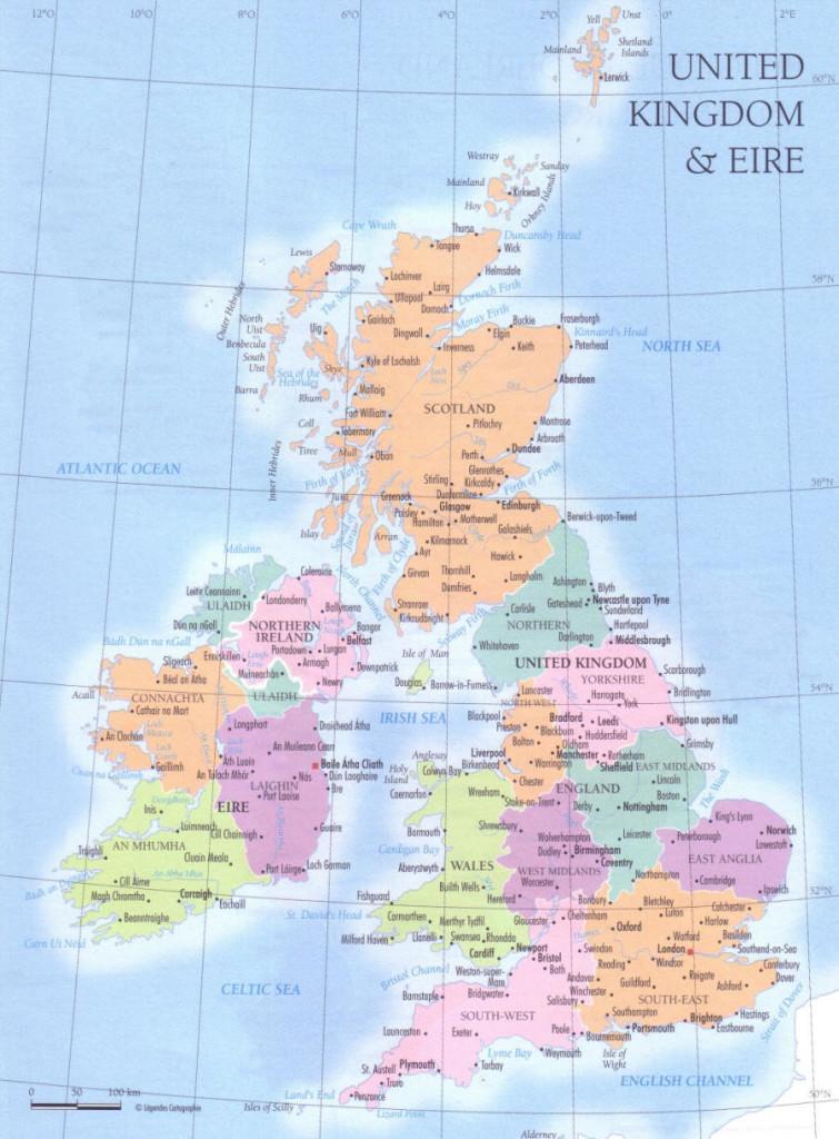 Cartina Geografica Fisica Della Gran Bretagna.1u Fermi Fermi Polo Montale